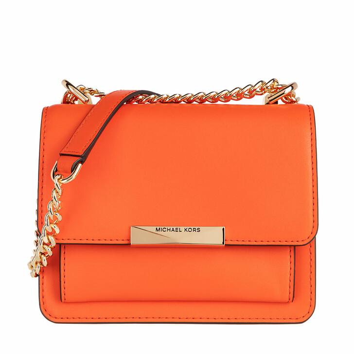 bags, MICHAEL Michael Kors, Jade Gusset XS Crossbody Bag Clementine