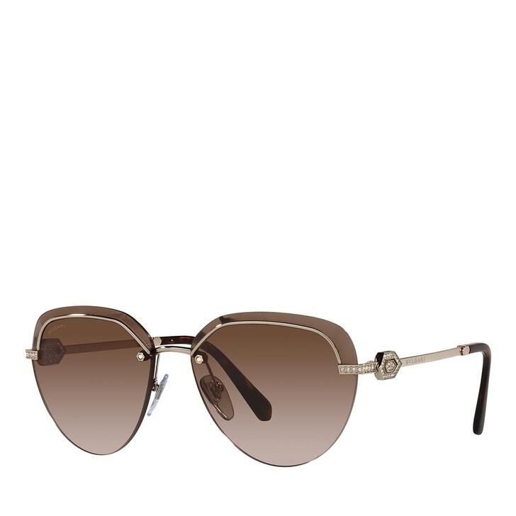 Sonnenbrille, BVLGARI, 0BV6154B PALE GOLD