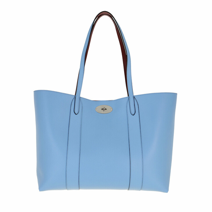 Handtasche, Mulberry, Bayswater Shopping Bag Leather Blue