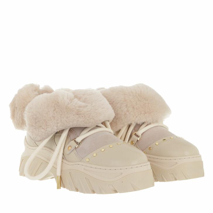 shoes, INUIKII, Trekking Plain  Beige