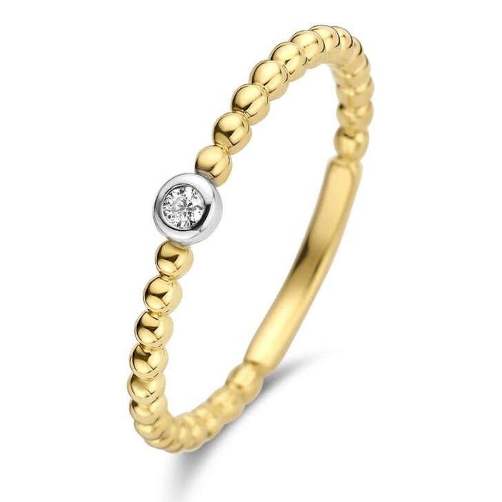 rings, Isabel Bernard, Le Marais Élodien 14 Karat Ring With Zirconia