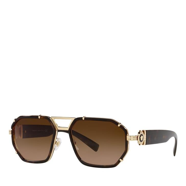 sunglasses, Versace, 0VE2228 HAVANA