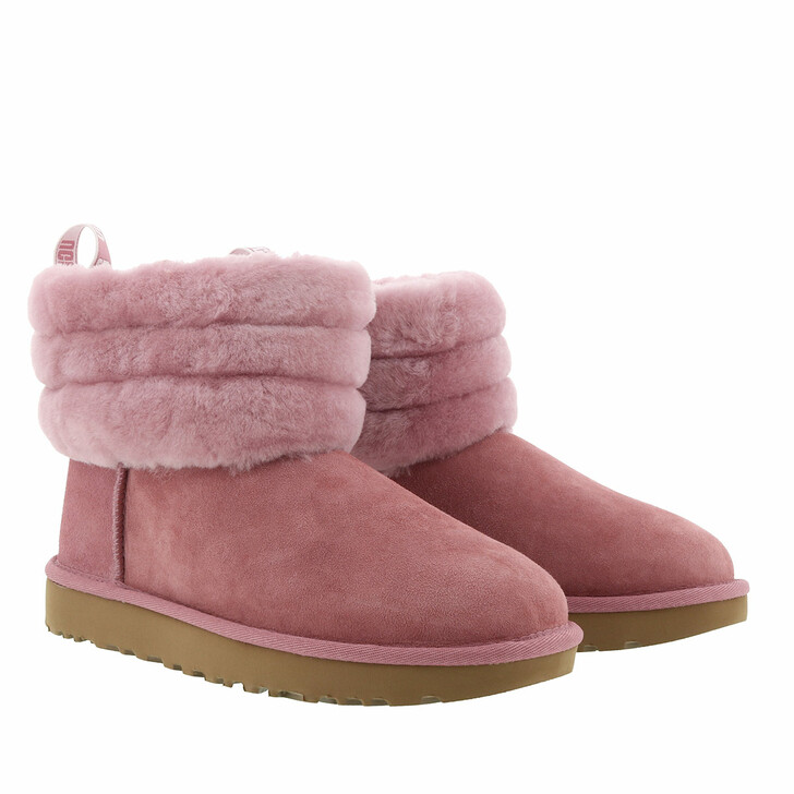 Schuh, UGG, W Fluff Mini Quilted Pink Dawn