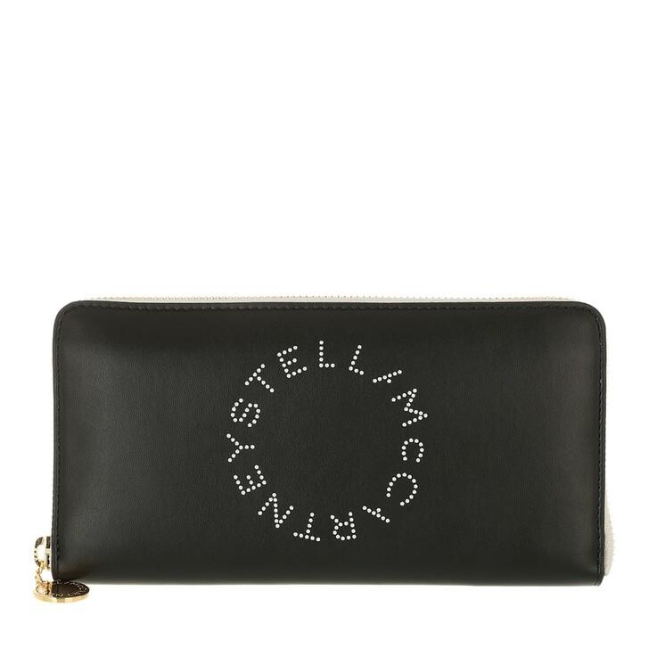 wallets, Stella McCartney, Zip Wallet Black