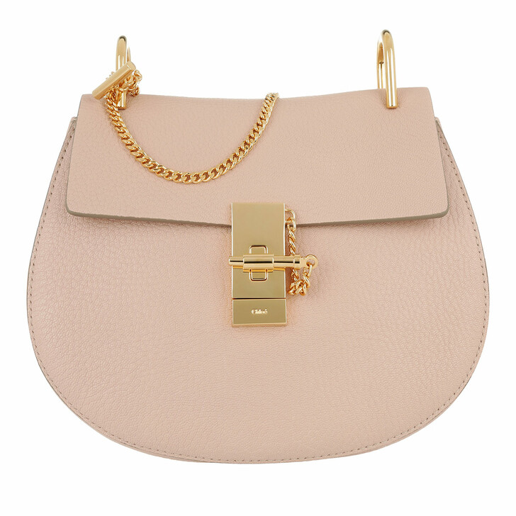 Handtasche, Chloé, Drew Crossbody Bag Cement Pink