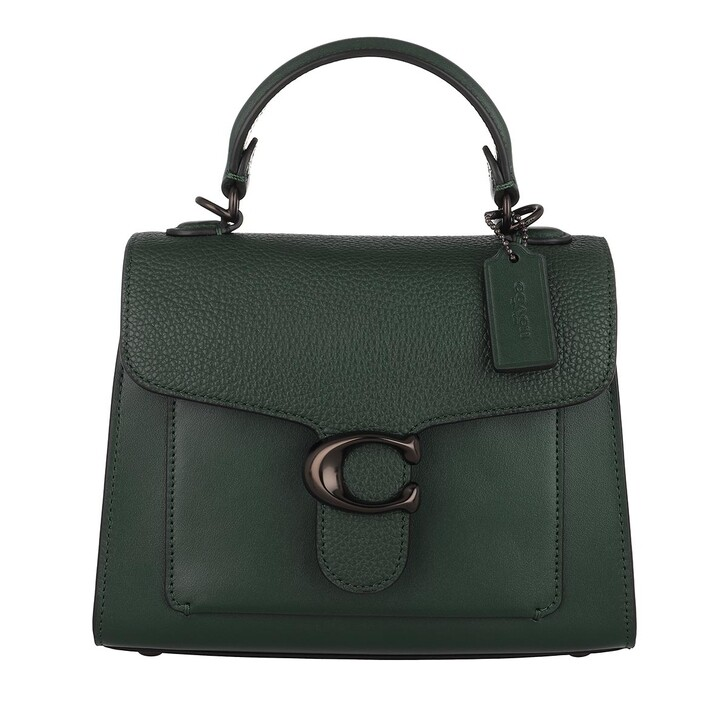 Handtasche, Coach, Mixed Leather Tabby Top Handle 20 V5/Forest