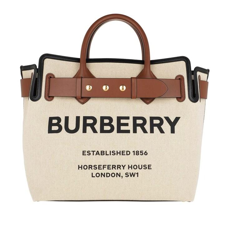 Handtasche, Burberry, The Belt Medium Tote Bag Malt Brown