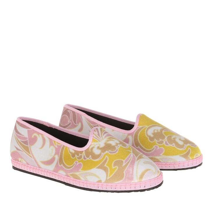 shoes, Emilio Pucci, Ballerina Shoes Tropicana Baby Rosa/Pesca