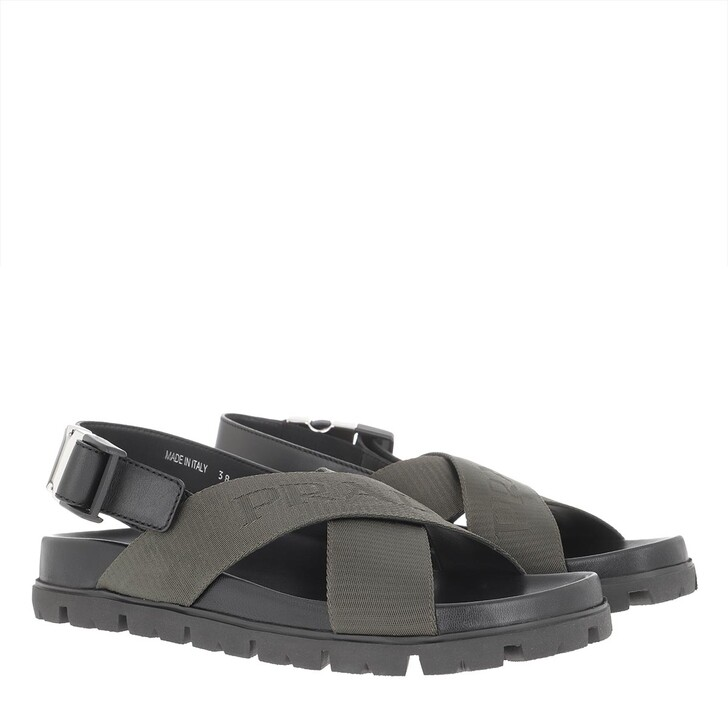 Schuh, Prada, Flat Sandal Tundra