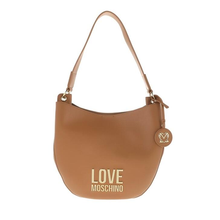 Handtasche, Love Moschino, Borsa Bonded Pu  Cammello