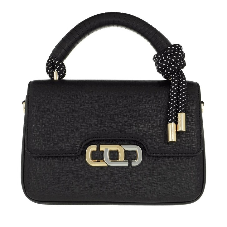 Handtasche, Marc Jacobs, The J Link Crossbody Bag Leather Black/White