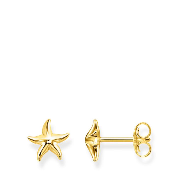earrings, Thomas Sabo, Ear Studs Starfish Gold