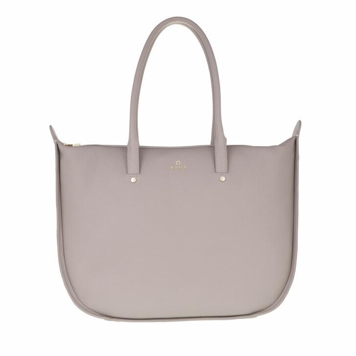 bags, AIGNER, Ivy Shopper Clay Grey