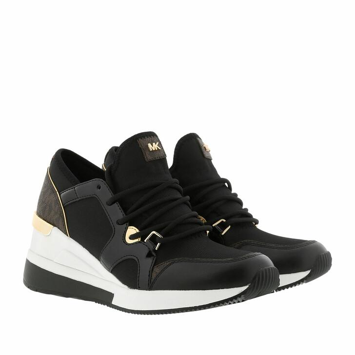 shoes, MICHAEL Michael Kors, Liv Trainer Black