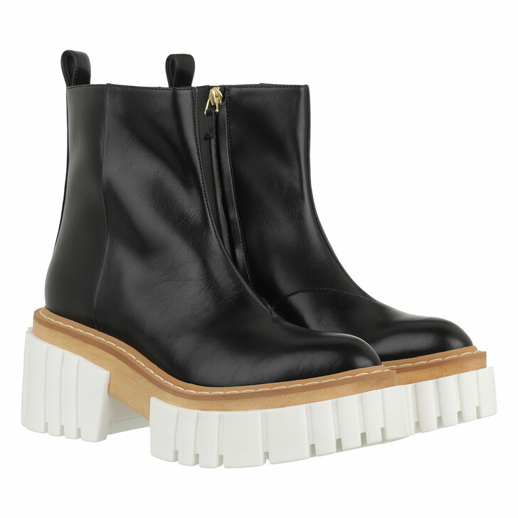shoes, Stella McCartney, Emilie Ankle Boots Black