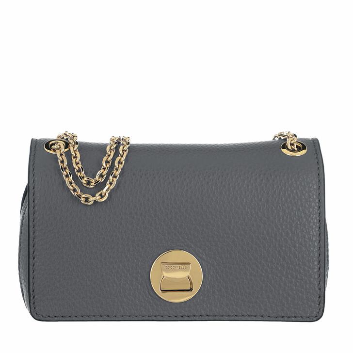 Handtasche, Coccinelle, Handbag Grainy Lea Ash Grey/Ash Grey