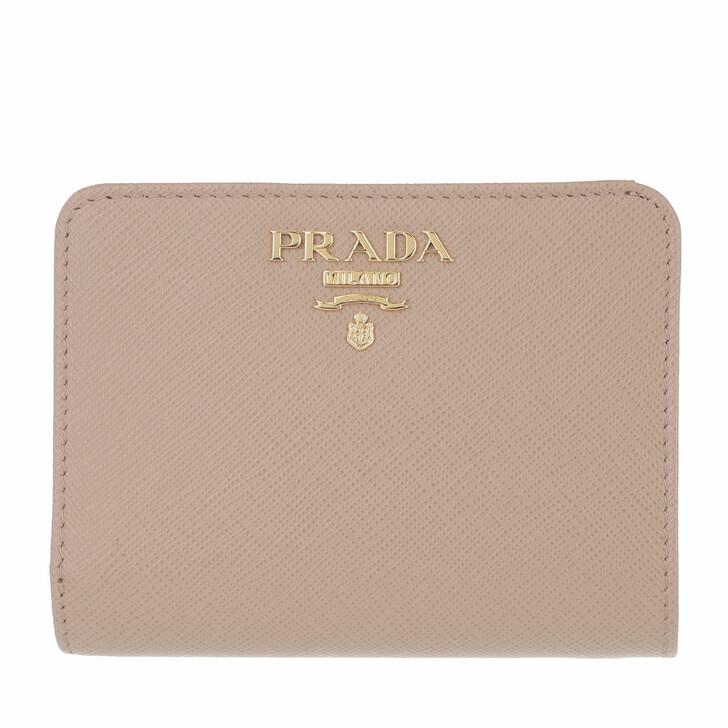 Geldbörse, Prada, Small Wallet Saffiano Leather Cipria