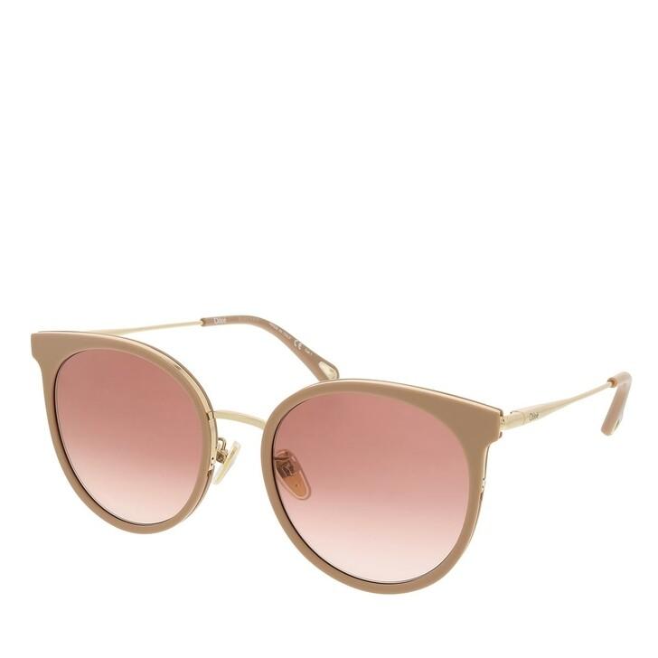 sunglasses, Chloé, CH0060SK-004 56 Sunglass Woman Bio Acetate Nude-Gold-Orange