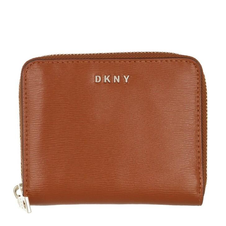 Geldbörse, DKNY, Bryant Small Zip Around Caramel