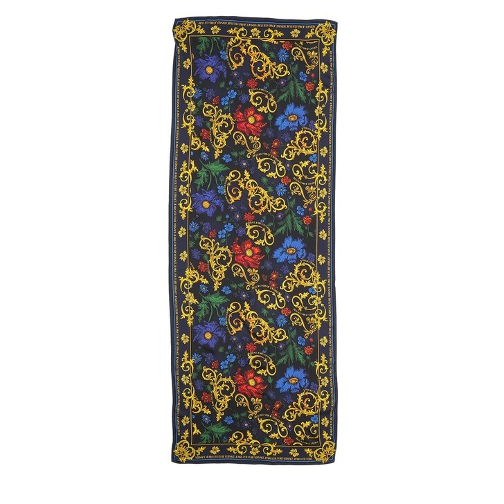 Schal, Versace Jeans Couture, Foulard Blue Black