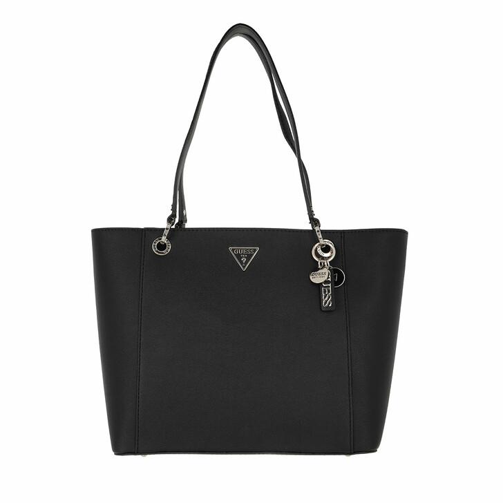 bags, Guess, Noelle Elite Tote Black