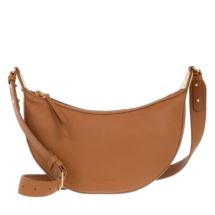 bags, Coccinelle, Anais Crossbody Bag Caramel