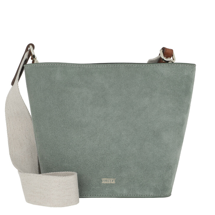 Handtasche, Closed, Grace S Shoulder Bag Dusty Pine