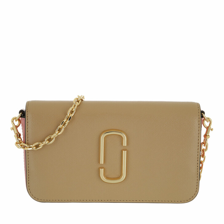 bags, Marc Jacobs, Snapshot Crossbody Bag With Chain Sandcastle Multi