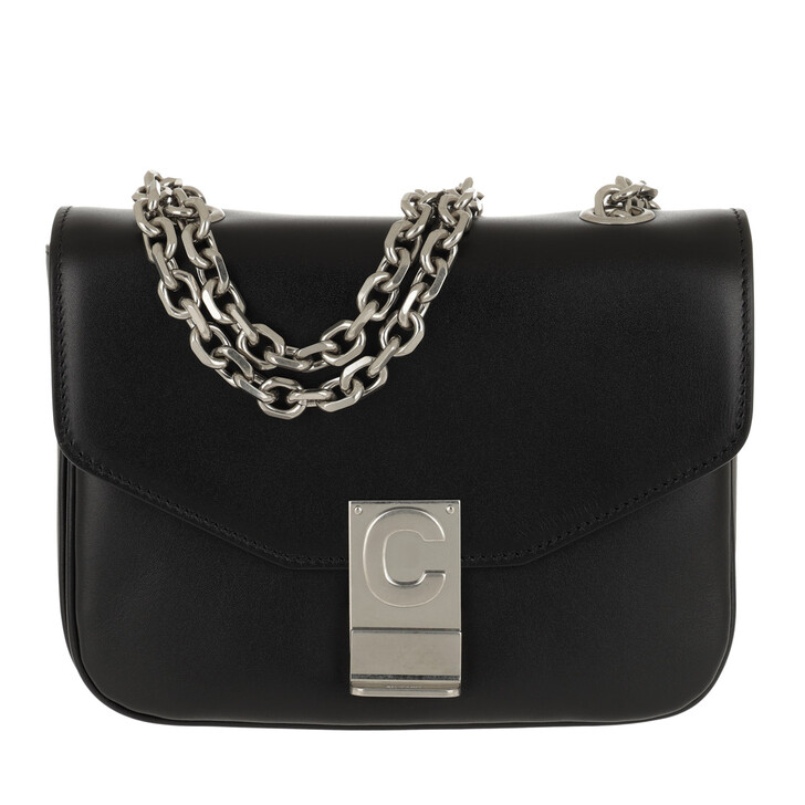 Handtasche, Celine, C Bag Small Shiny Calfskin Black