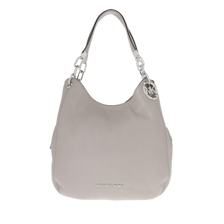Handtasche, MICHAEL Michael Kors, Large Chain Shoulder  Pearl Grey