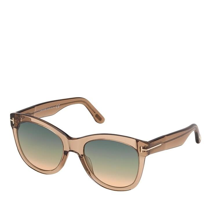 Sonnenbrille, Tom Ford, FT0870 Brown/Blue