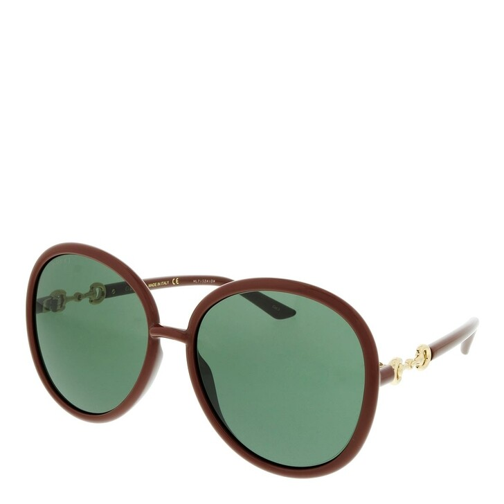Sonnenbrille, Gucci, GG0889S-002 61 Sunglass WOMAN INJECTION BROWN