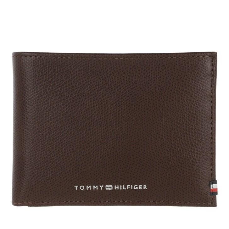 Geldbörse, Tommy Hilfiger, Business Extra CC And Coin Chestnut
