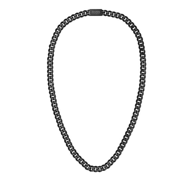 Kette, Boss, Men Necklace Black