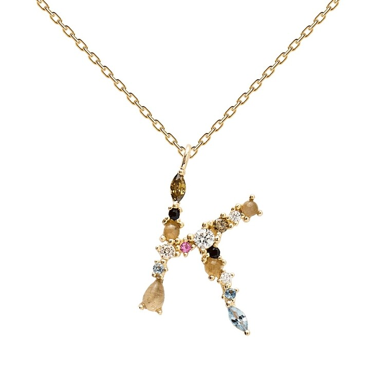 necklaces, PDPAOLA, K Necklace Yellow Gold