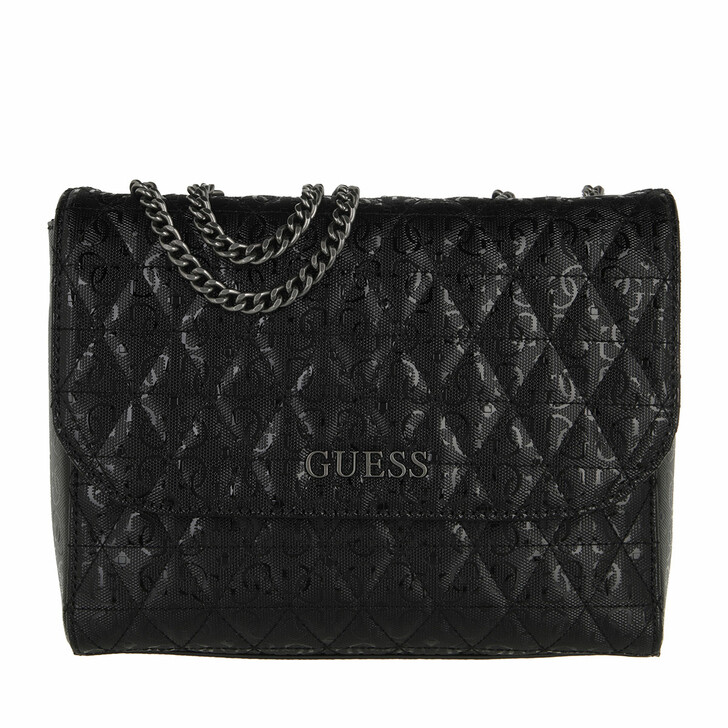 bags, Guess, Wessex Convertible Xbody Flap Black