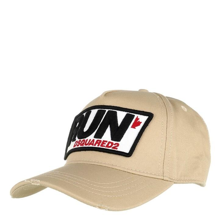 Mütze, Dsquared2, Run Cargo Baseball Cap Beige