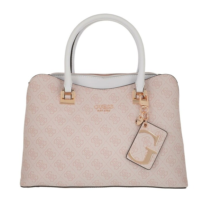 Handtasche, Guess, Mika Girlfriend Satchel Bag Blush