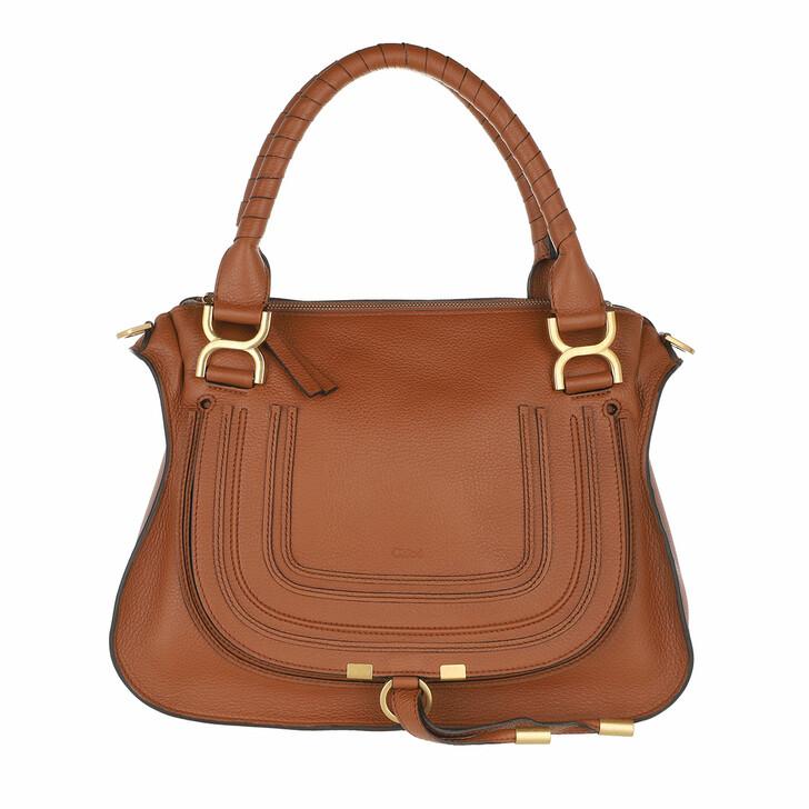 bags, Chloé, Marcie Handbag Grained Calfskin Leather