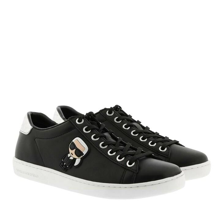 Schuh, Karl Lagerfeld, Kupsole II Karl Ikonic Lo Lace Black