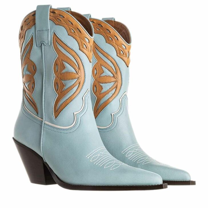 Schuh, Toral, Boots Seta Celeste