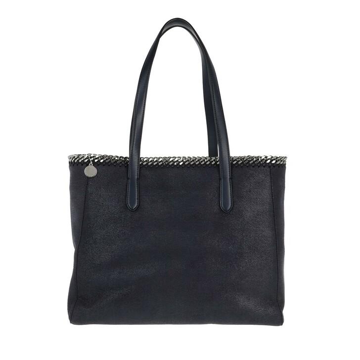 Handtasche, Stella McCartney, Falabella Shaggy Dear Small Tote Blue