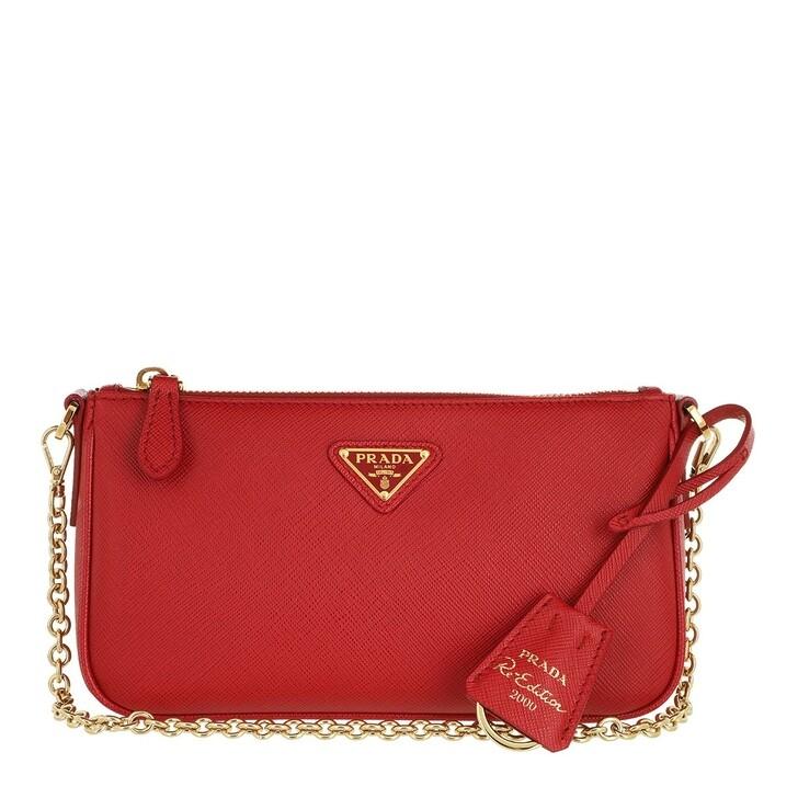 bags, Prada, Re-Edition 2000 Shoulder Bag Fuoco