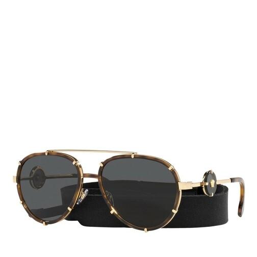 versace -  Sonnenbrille - 0VE2232 - in braun - für Damen