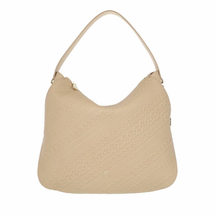 bags, AIGNER, Catena Mini Bag Almond Beige