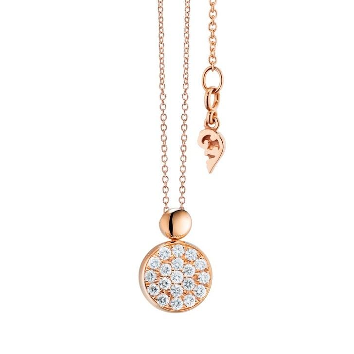 Kette, Capolavoro, Necklace Dolcini Brilliant Cut Rosegold