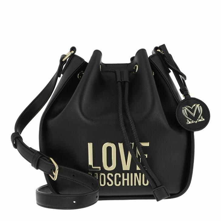 bags, Love Moschino, Borsa Bonded Pu  Nero
