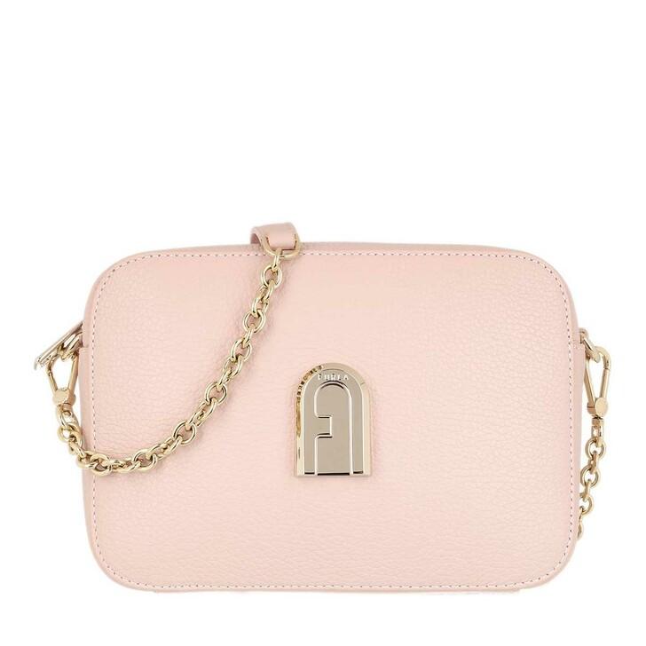 bags, Furla, Sleek Mini Camera Case Candy Rose