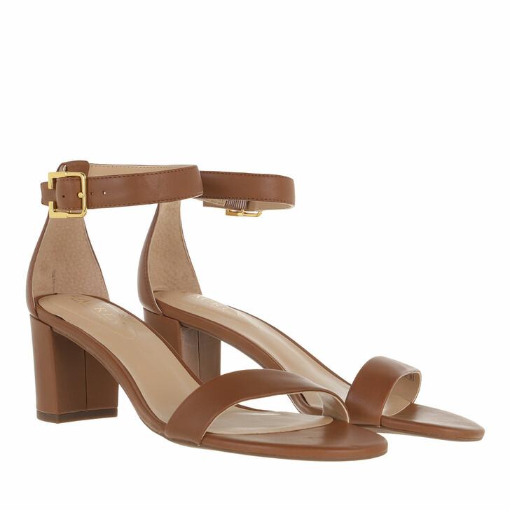 Schuh, Lauren Ralph Lauren, Waverli Sandals Casual Deep Saddle Tan