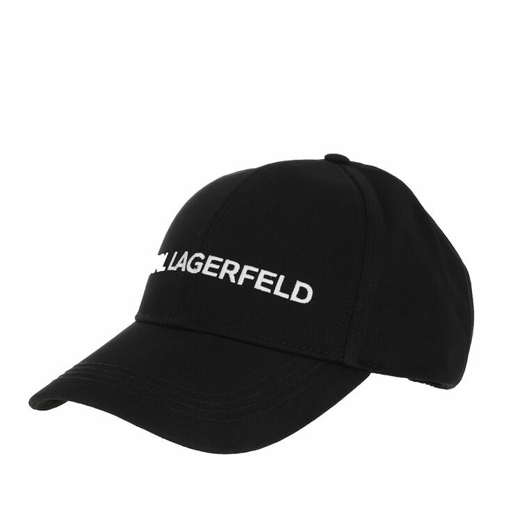 Schal, Karl Lagerfeld, Karl Essential Logo Cap Black